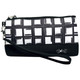 Abstract Pane Wristlet