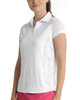 Scales Mesh Sleeve Polo