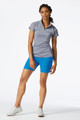 Annika Elite Short-Sleeve Mock Half-Zip