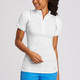 Annika Elite Short Sleeve Mock Half-Zips (6 colors)