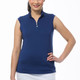 SanSoleil SunGlow UV50 Sleeveless Mock (12 colors)