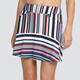 Honor Variegated Stripe Skort