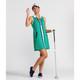 Prepped to Par Sleeveless Golf Dress - Windowpane Green