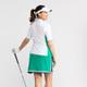 Sweet and Slim Shortsleeve Golf Top - White