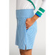 Tailored and Trim Golf Shorts - Royal Stripe