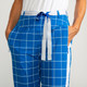 Tuck it in Golf Trouser Pant - Windowpane Royal