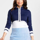 KINONA Sun's Out Zip Front Shrug - Navy