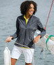 Sunice Onassis Zephal Waterproof Stretch Jacket - Oyster/Jewel Blue