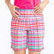 KINONA Tailored and Trim Golf Shorts - Mad Plaid