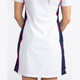 KINONA Button & Run Short Sleeve Golf Dress - White