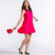 KINONA Summertime Swing Golf Dress - Flamingo