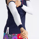 KINONA Sun's Out Golf Sleeve - White/Navy