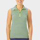 Nancy Lopez Flight Sleeveless Mock - Midnight/Lime