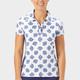 Nancy Lopez Bloom Short Sleeve Polo - Midnight