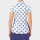 Nancy Lopez Bloom Short Sleeve Polo - Midnight