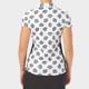 Nancy Lopez Bloom Short Sleeve Polo - Black