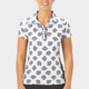 Nancy Lopez Bloom Short Sleeve Polo - Black