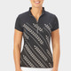 Nancy Lopez Carefree Short Sleeve Mock - Black