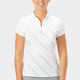 Nancy Lopez Carefree Short Sleeve Mock - White