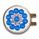Blingo Ballmarker - Electric Blue/White