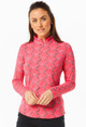 IBKUL Belmont Long Sleeve Mock (2 colors)