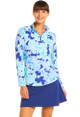 IBKUL Pascha Long Sleeve Mock (3 colors)