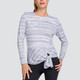 Tail Robin Long Sleeve Top - Cloud
