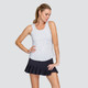 Tail Mia Racerback Tank - Snow Heather