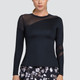 Tail Augusta Long Sleeve Top - Onyx
