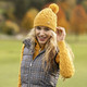 Daily Sports Alondra Knit Hat - Amber