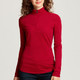 Ladies L/S Advantage Half Zip Mock