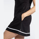 All Day Long Sleeveless Golf Dress - Black