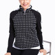 Layer Up Jacket - Black/White Dots