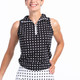 Keep it Covered Sleeveless Mock - Dashing Dot