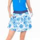 Amy Sport Sandie Circle Skort - Tie Dye Blue