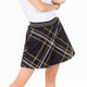 Amy Sport Sandie Circle Skort - Plaid