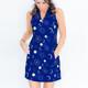 Frontline Sleeveless Golf Dress - Harvest Moon