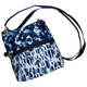 2-Zip Carry All Bag - Blue Leopard