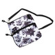 2-Zip Carry All Bag - Graphite Floral