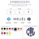 Embroidery [add $10]