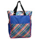 Tennis Sport Tote - Plaid Sorbet