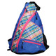 Pickleball Sling Bag - Plaid Sorbet