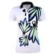 Daily Sports Kinsey Short Sleeve Polo - White/Spirit