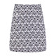 Kinsey Golf Skort - White/Black