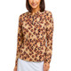 Le Leopard Long Sleeve Polo