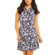 Le Leopard Sleeveless Polo Dress