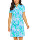 Allison Short Sleeve Mock Dress