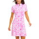 IBKUL Out Of The Box Short Sleeve Mock Dress (2 colors)