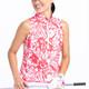 KINONA Keep It Covered Sleeveless Mock - Watermelon Floral