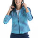 KINONA Layer Up Jacket - Mediterranean Check